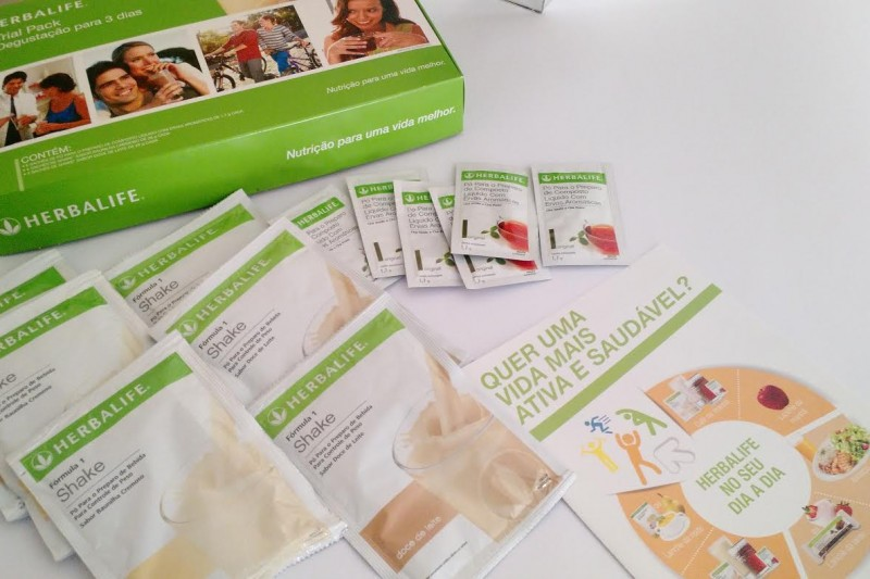 Vida Saudável | Espaço Herbalife | Trial Pack