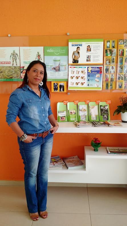 Vida Saudável   Espaço Herbalife   Mari Brasil