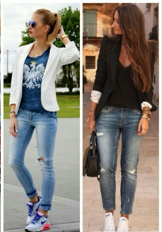 Dica de Look | Look Para Usar Na Beauty Fair | Jeans e Tênis