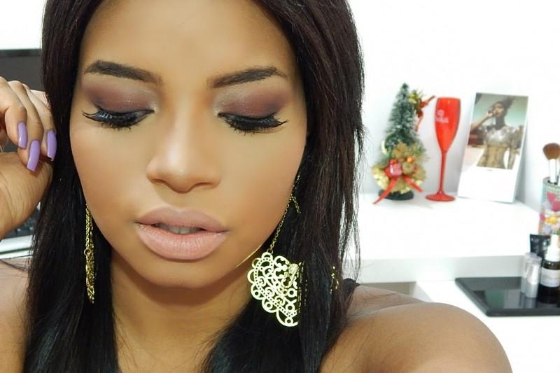 Maquiagem | Make Para O Natal | Amanda Carneiro