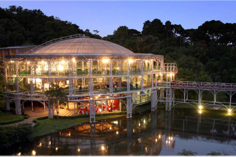 Dicas De Viagem Paraná | Lugares Que Quero Conhecer Em Curitiba Ópera De Arame Noite