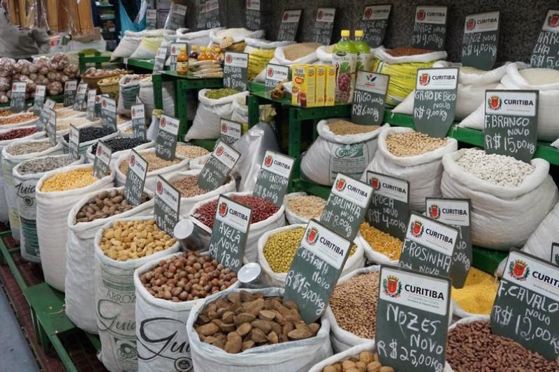 Dicas De Viagem Paraná | Lugares Que Quero Conhecer Em Curitiba Mercado Municipal Condimentos