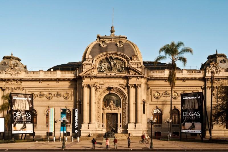 Dicas de Viagem Chile   Lugares Que Quero Conhecer Santiago Museo de Belas Artes