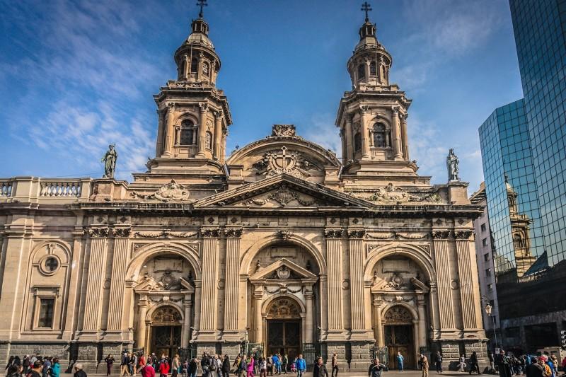 Dicas de Viagem Chile   Lugares Que Quero Conhecer Santiago Catedral Metropolitana