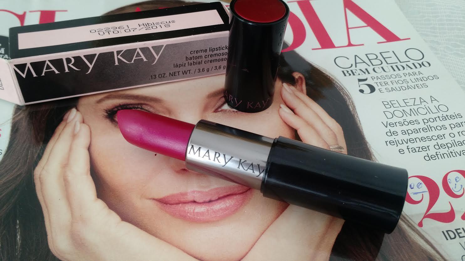 Batom Da Vez | Hibiscus Mary Kay