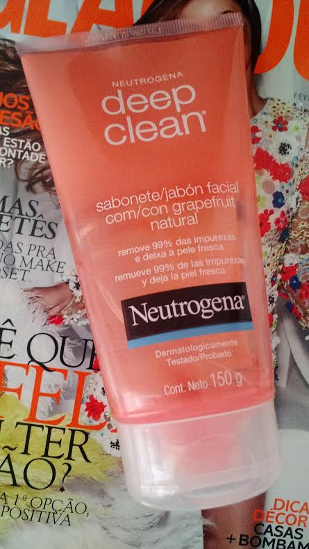 Dica Do Dia Pele   Sabonete Facial Neutrogena Deep Clean