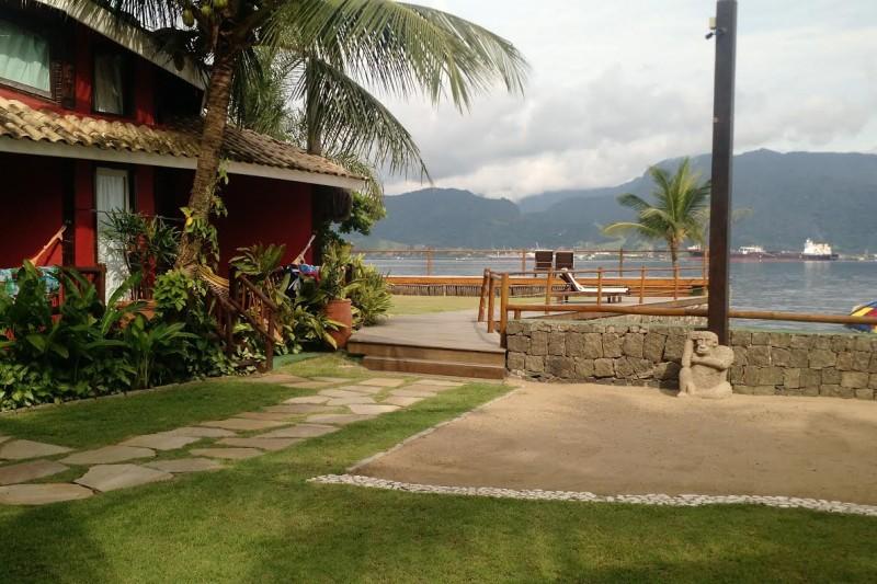 Dica De Viagem Ilhabela   Pousada Vila Das Velas Deck