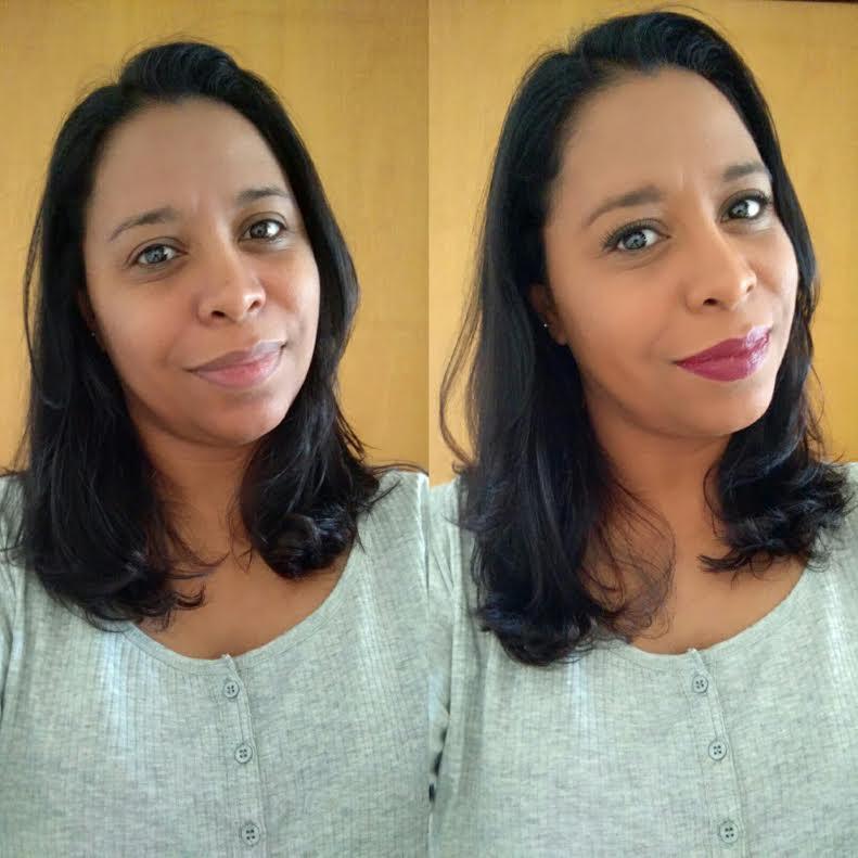 Maquiagem Pele Negra   Base Fit Me De Maybelline Batom Vermelho