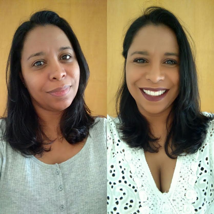 Maquiagem Pele Negra   Base Fit Me De Maybelline Duas Camadas