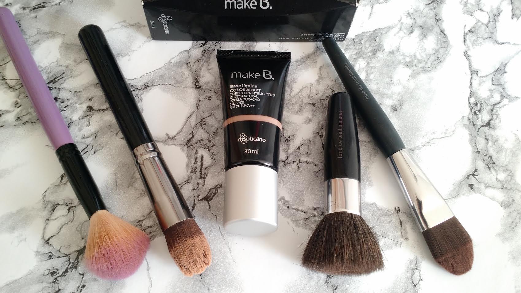 Maquiagem Feminina | Base Color Adapt Make B