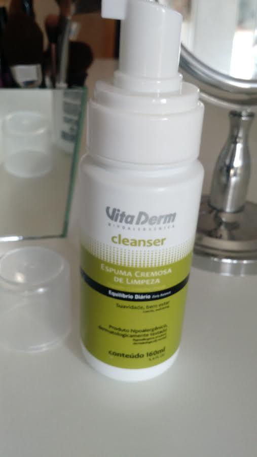 Cuidado Facial | Espuma Cremosa De Limpeza Vita Derm Post