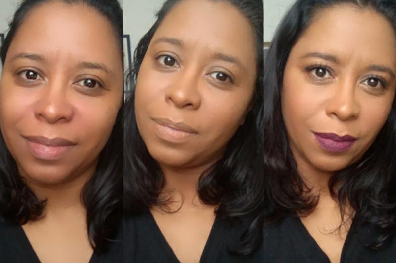 Maquiagem Pele Negra | Base Líquida Matte Amor InfinitoTeste