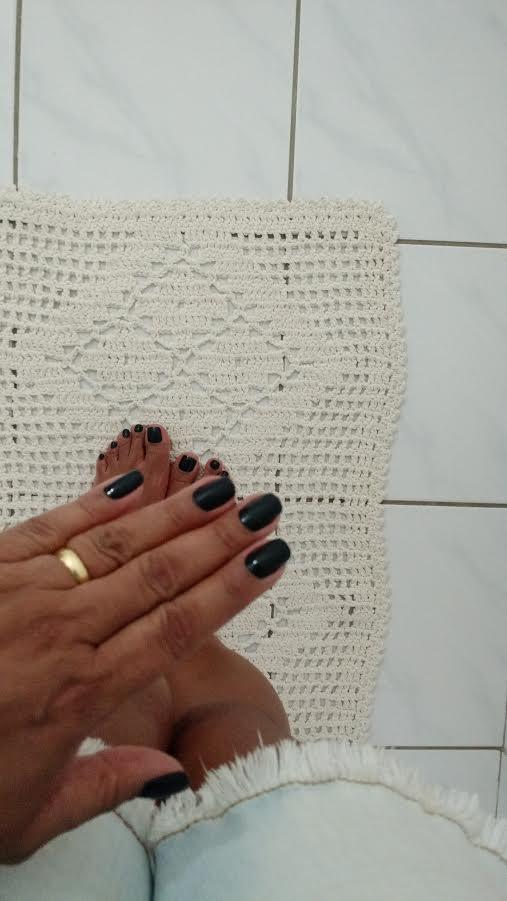 Esmalte Da Semana |Cisne Negro Da Vult Pé Mão