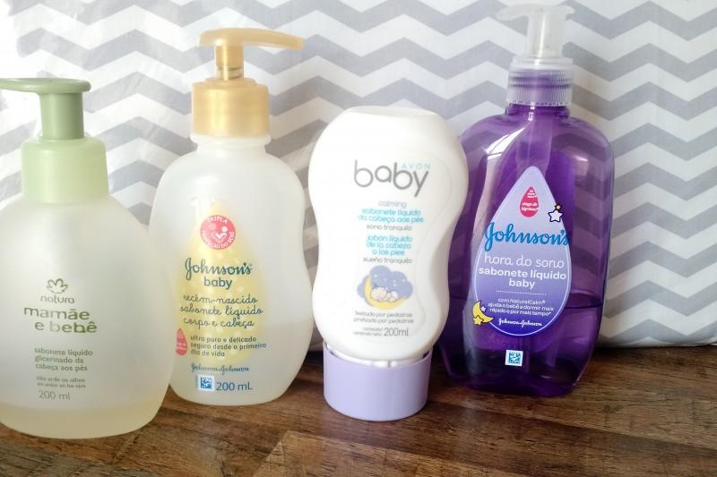 Hora Do Banho | Produtos Que Uso No Banho Da Lívia Sabonete - Líquido