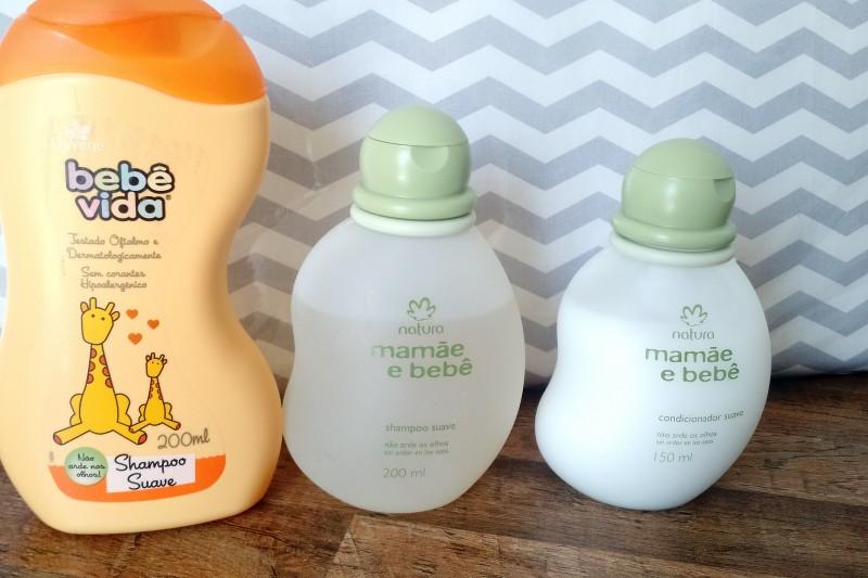 Hora Do Banho | Produtos Que Uso No Banho Da Lívia Shampoo