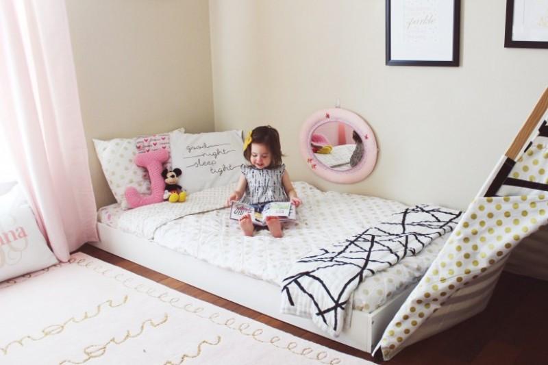 Quarto Montessoriano | Dicas e Inspirações Cama