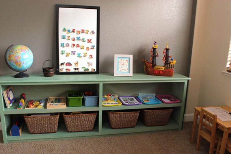Quarto Montessoriano | Dicas e Inspirações Prateleira