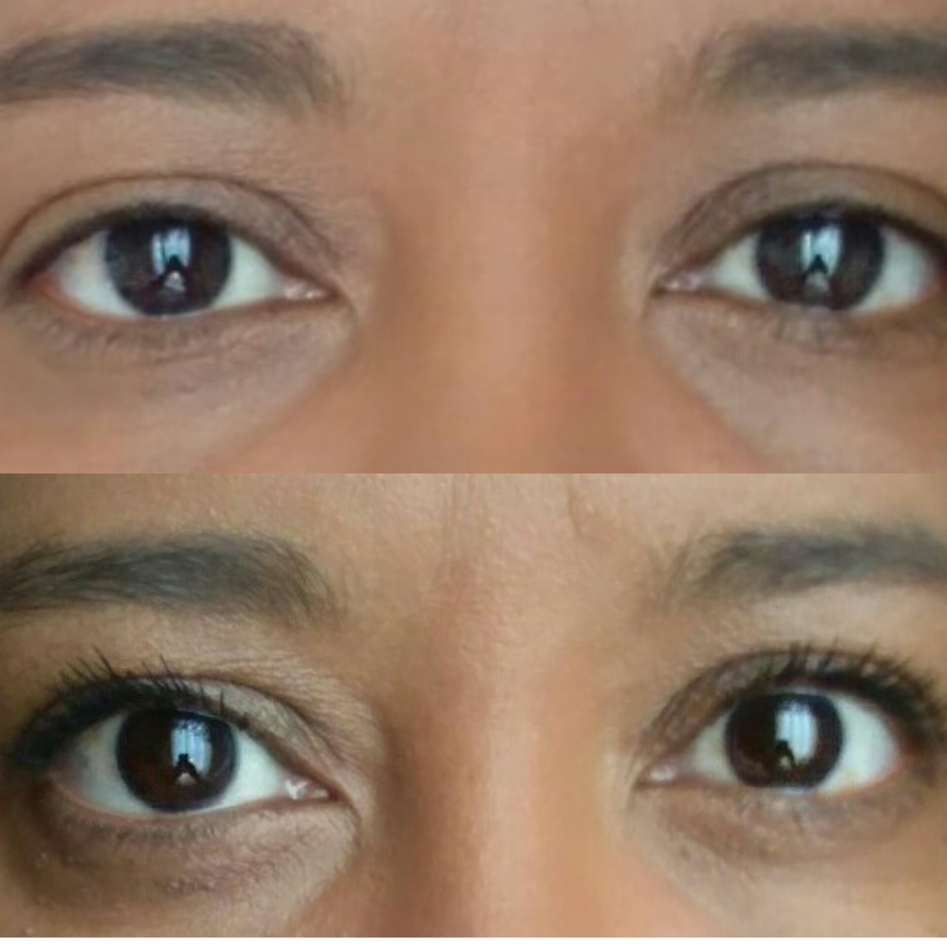 Mãe Usa Maquiagem   Máscara De Cílios Lash Intensity Mary Kay Antes e Depois