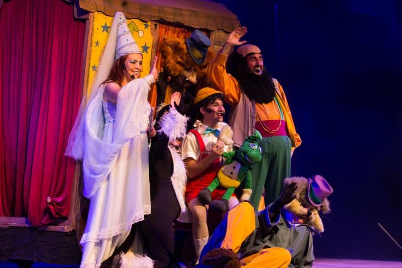 Em Campinas | Pinóquio Se Apresenta no Teatro Iguatemi Campinas Capa