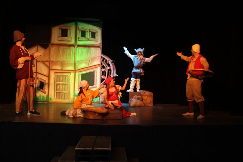 Em Campinas | Teatro Iguatemi A Peça O Gato De Botas -