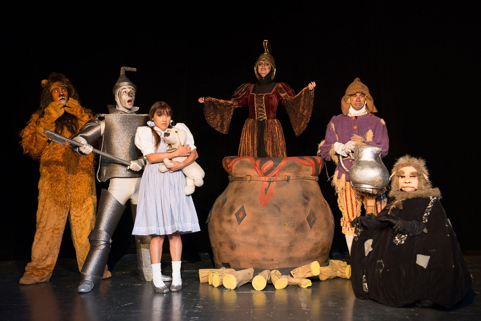 Em Campinas   Teatro Iguatemi Peça No Reino Mágico De Oz