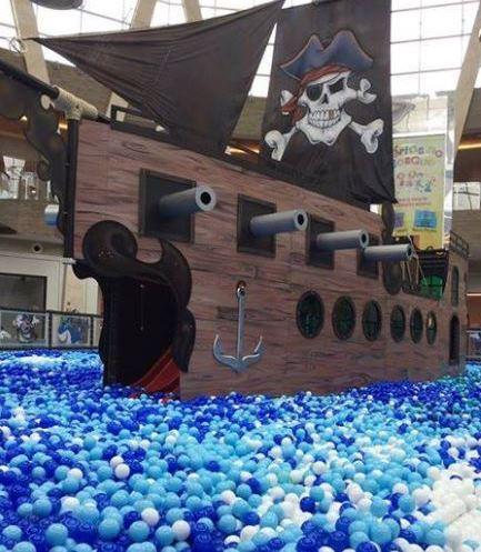 Campinas Shopping | Aventura Pirata Mar de Bolinhas Matéria