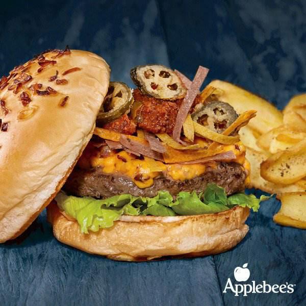 Applebees Campinas | Os Burgers Campeões Estão De Volta Nachos