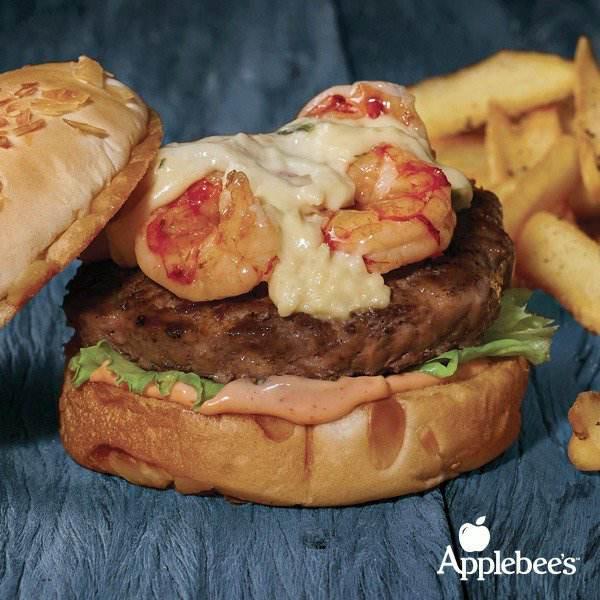 Applebees Campinas | Os Burgers Campeões Estão De Volta Surf'n Turf