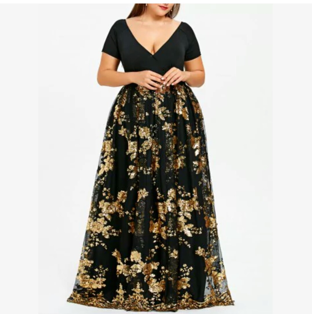 Dicas de Look | Loja On Line Rose Gal Vestido Festa Plus
