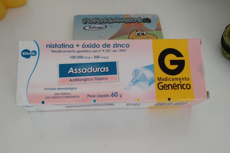 Pomadas Para Assaduras | Cuidados Com o Bebê Nistatina