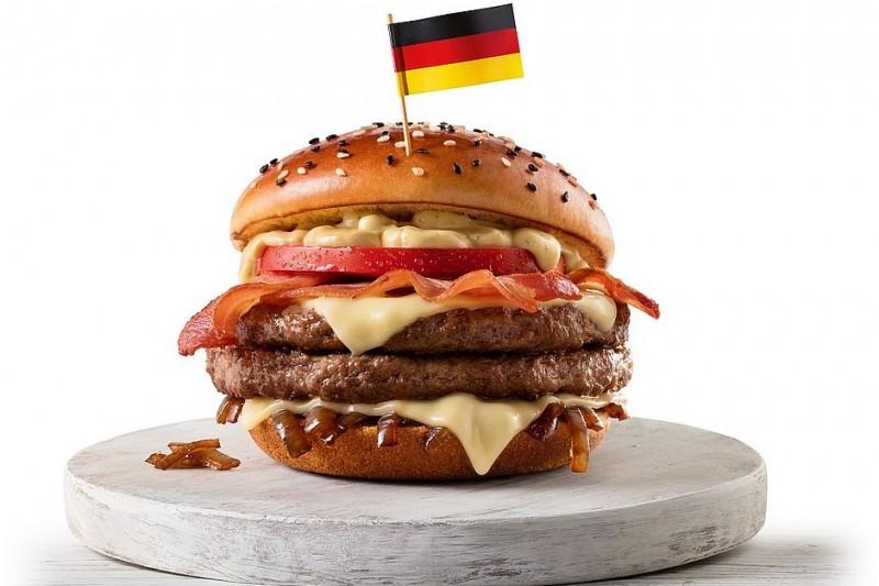 Mc Donalds   Sanduíches Campeões Alemanha