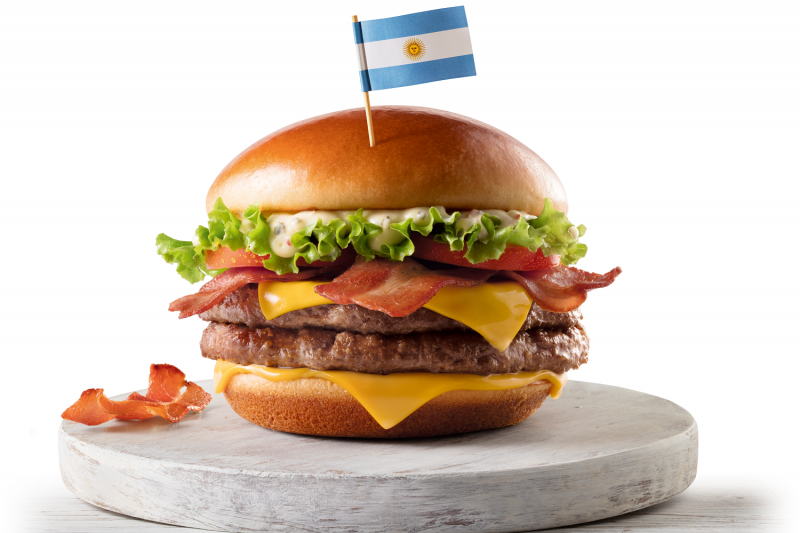 Mc Donalds   Sanduíches Campeões Argentina