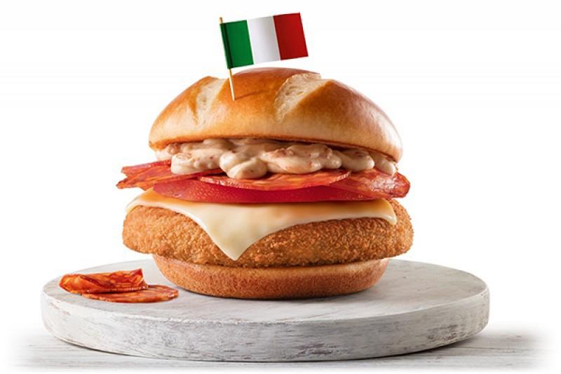 Mc Donalds   Sanduíches Campeões Itália
