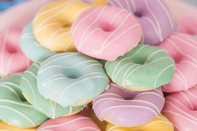 Um Ano Da Lívia | Donuts Algodão Doce Mãe E Filha