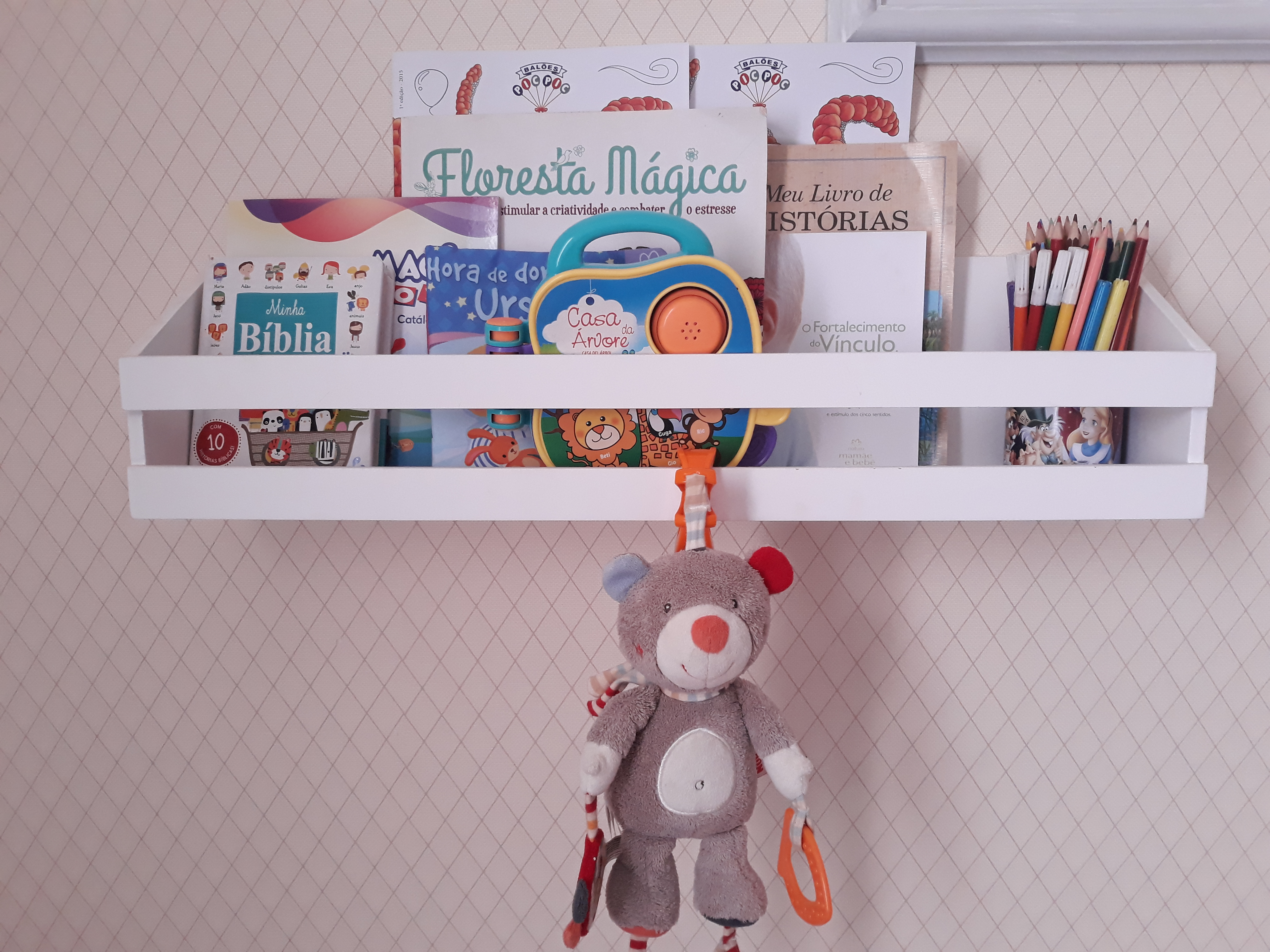 Decoração Quarto De Criança | Quarto Da Lívia Livros