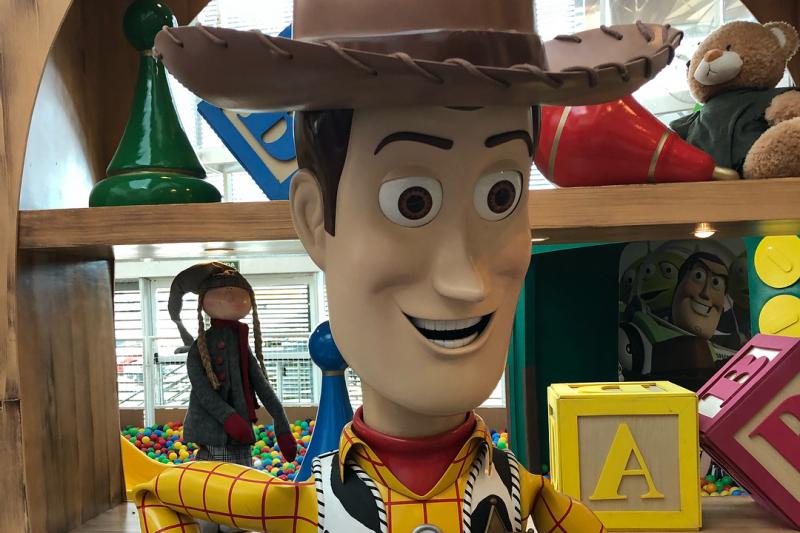 Amigo Estou Aqui | O Quarto Do Andy Esta No Campinas Shopping Woody