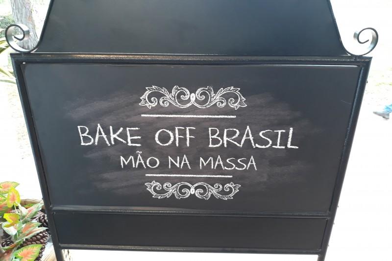Bake Off Brasil   SBT Estréia 4ª Temporada Placa