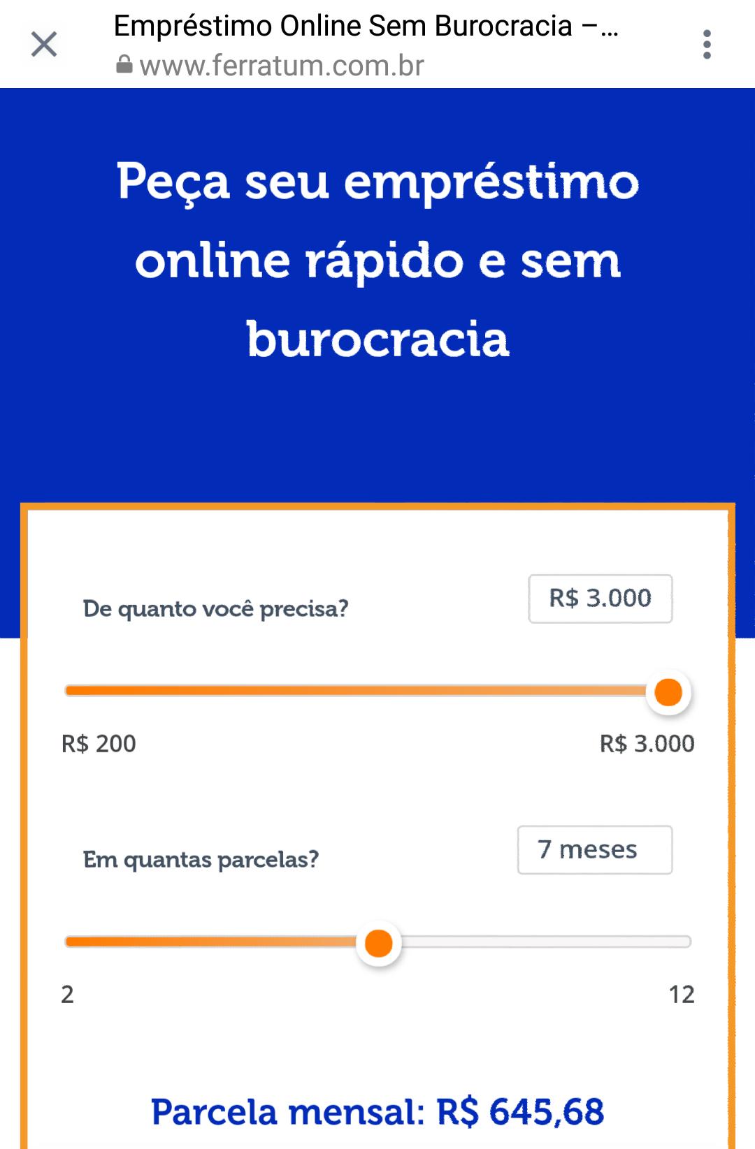 Empréstimo Online | Fácil e Sem Burocrácia Conheça Ferratum Site