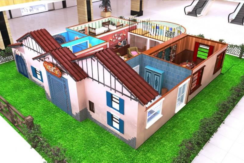 Programação Infantil Em Campinas | Casa Inspirada Na Série Valentins Chega Ao Parque D. Pedro Shopping Casa