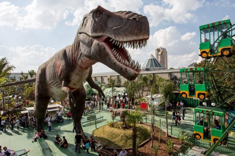 T-Rex Park | Inicia Comemoração Do Dia Dos Pais Lança Nova Atração Dinossauro