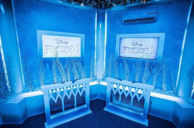 Campinas Shopping Recebe Atração Gratuíta   Frozen Brincadeira Congelante