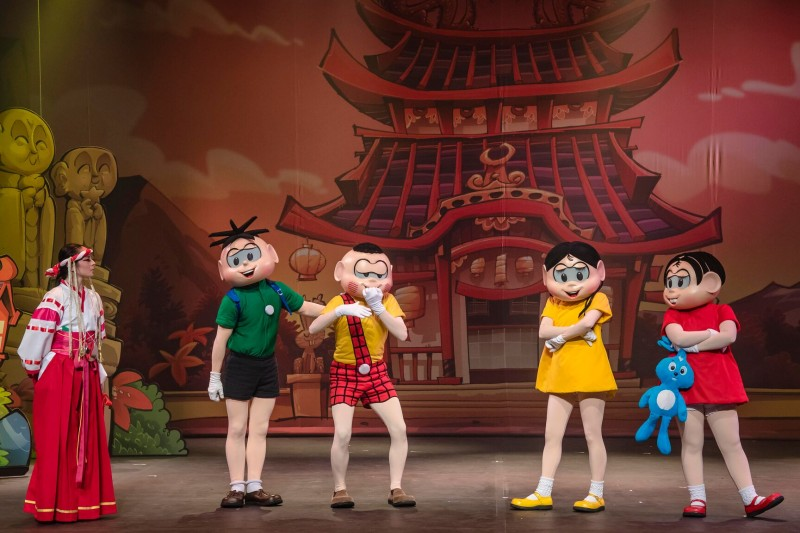 Teatro Infantil Em Campinas | Turma Da Mônica E Hello Kitty -