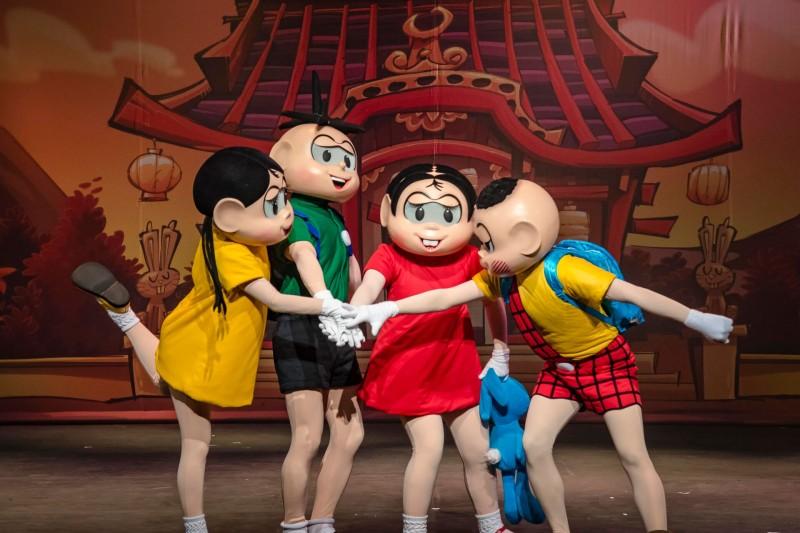 Teatro Infantil Em Campinas | Turma Da Mônica E Hello Kitty Blog