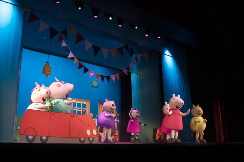 Atração infantil em Campinas | Peppa Pig -