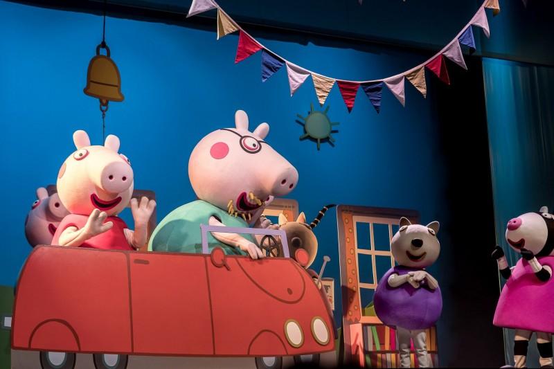 Atração infantil em Campinas   Peppa Pig Matéria