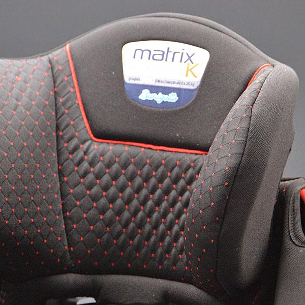 Segurança da Criança | Cadeira Burigotto Matrix Evolution Encosto