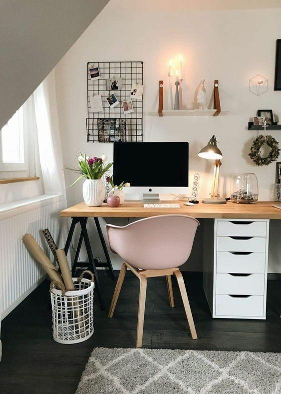 Trabalhar em Casa | Inspirações de Home Office Pequeno Gostei