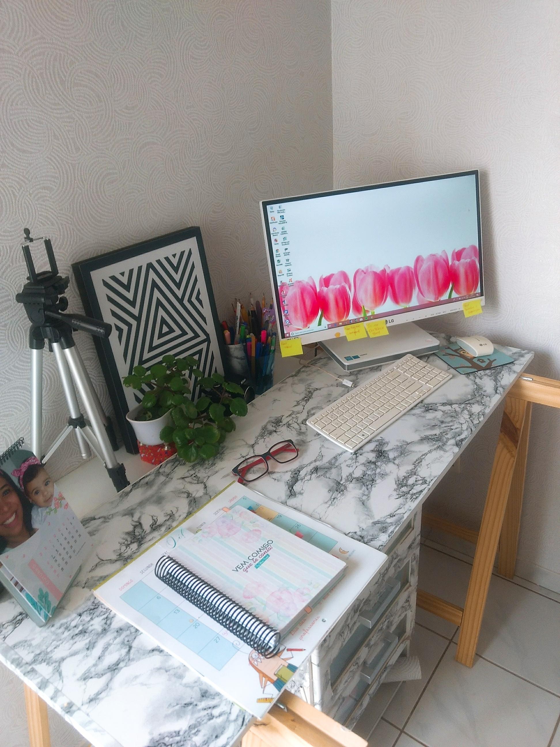 Trabalhar em Casa Inspirações de Home Office Pequeno Meu