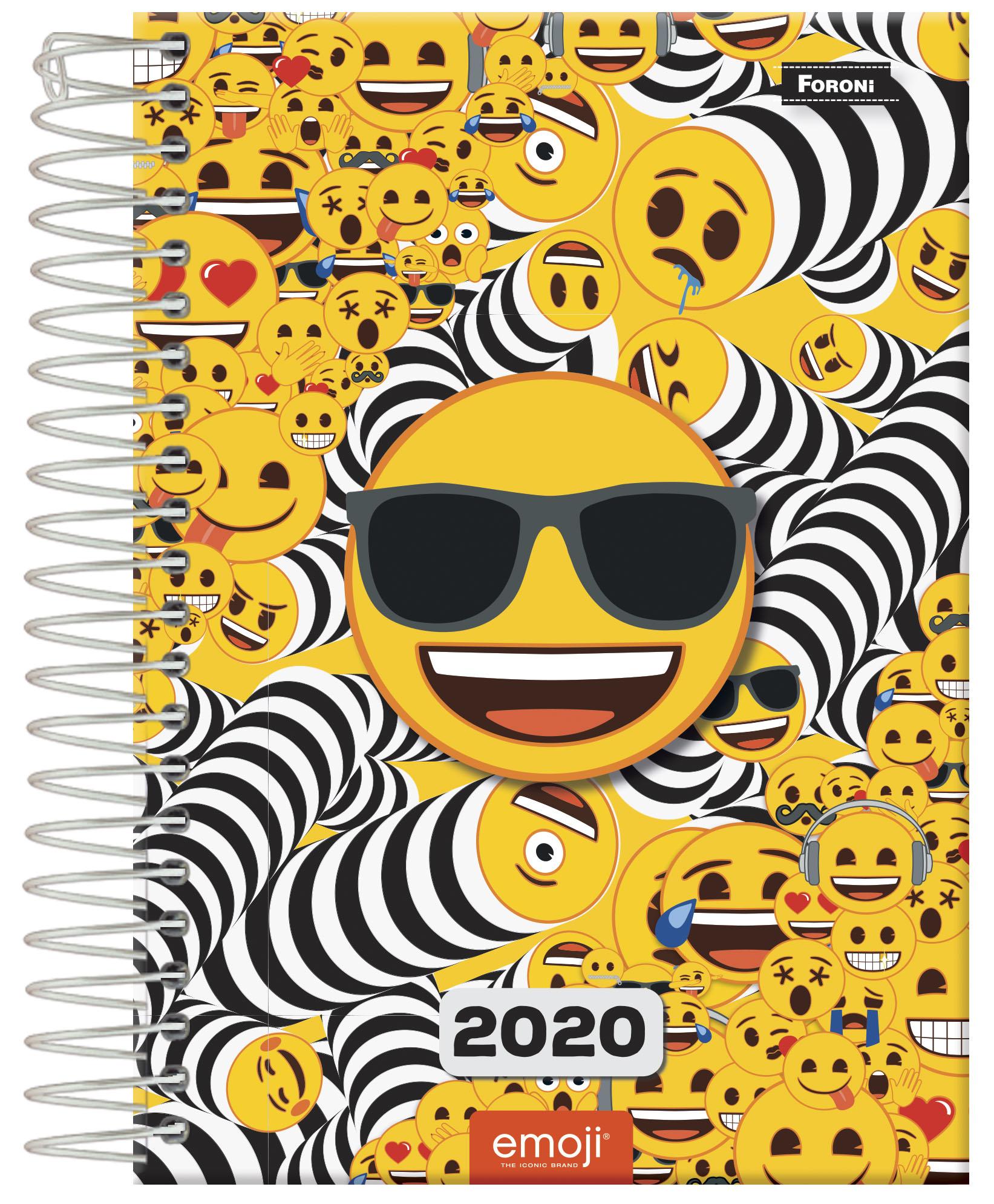 Planejamento Anual | Foroni Lança Planners e Agendas Para 2020 Emoji