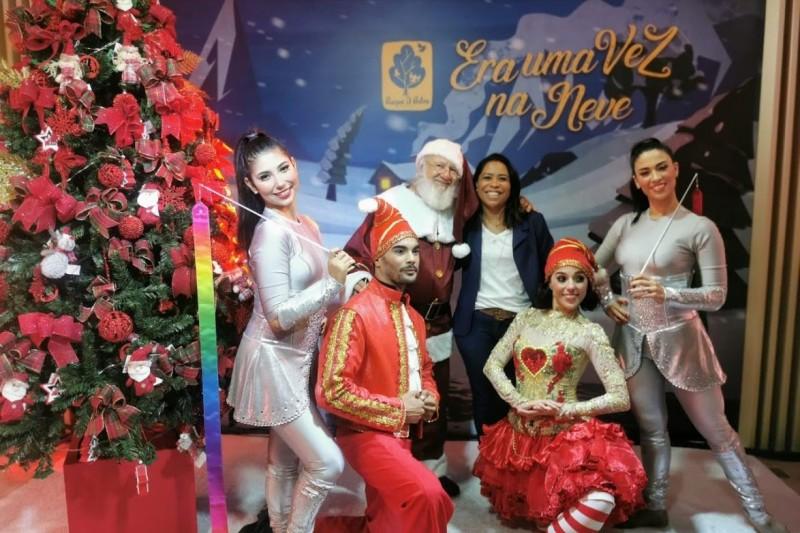 Natal Parque D.Pedro Shopping / Papai Noel Digital e Muitas Atrações